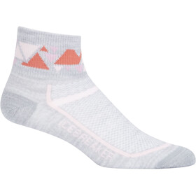 Icebreaker W's Multisport Ultra Light Mini Blizzard hthr/Glow